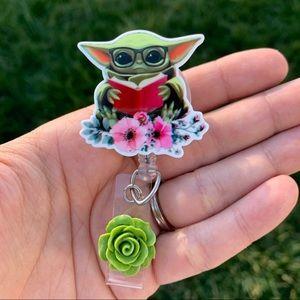 Baby Yoda Badge Holder